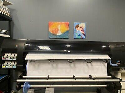 60 Hp Design Jet Z6100ps Inkjet Printer Plotter Large Wide Format