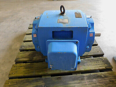 Teco Electric Induction Motor 100 Hp 2 P 365ts Frame 230460 V 3550 Rpm 3 Ph