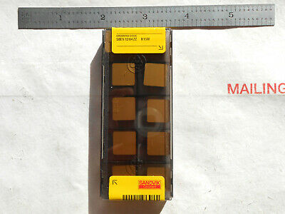 New 10 Pcs. Sandvik Coromant Sben 12 04 Zz K15w Grade Indexable Mill Inserts
