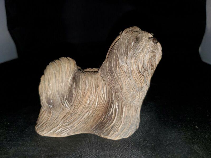 Stone Critters Lhasa Apso Figurine