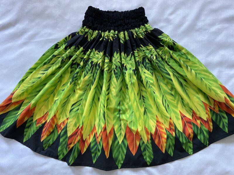 BLACK GREEN YELLOW HAWAIIAN PAU PA