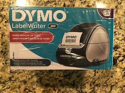 Dymo Labelwriter 450 Label Writer Newopendamaged Box
