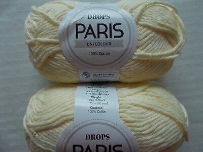 пряжа Drops Paris Uni Colour 100%