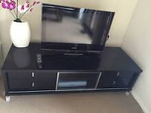Modern High Gloss Black TV Entertainment Unit *as new condition* Campsie Canterbury Area Preview