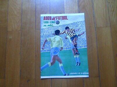 ALBUM CROMOS FUTBOL 59-60 FERCA FACSIMIL COMPLETO Y NUEVO