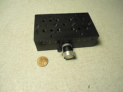 Optical Laboratory Adjustable Sliding Positioning Table 4.25 X 2.5