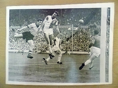 100% Org Press Photo 1960 FA Cup Final Wolves v Blackburn- Action During Match