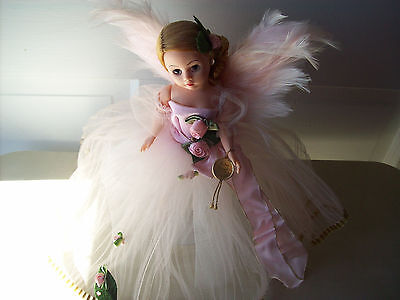 "Madame Alexander Guardian Angel Doll "" Pink Pristine"" With Both Tags"