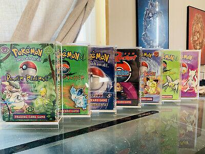5 Pack Pokemon Theme Deck Acrylic Protective Case