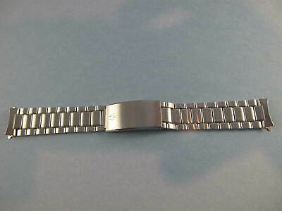 ACCUTRON MENS NOS VINTAGE CURVED 18MM ENDS WATCH BRACELET