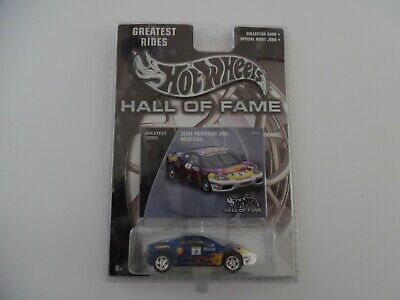 HOT WHEELS HALL OF FAME 2001 FERRARI 360 MODENA GREATEST RIDES new 1/64
