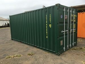 20ft Shipping Container Hire Bundaberg Central Bundaberg City Preview