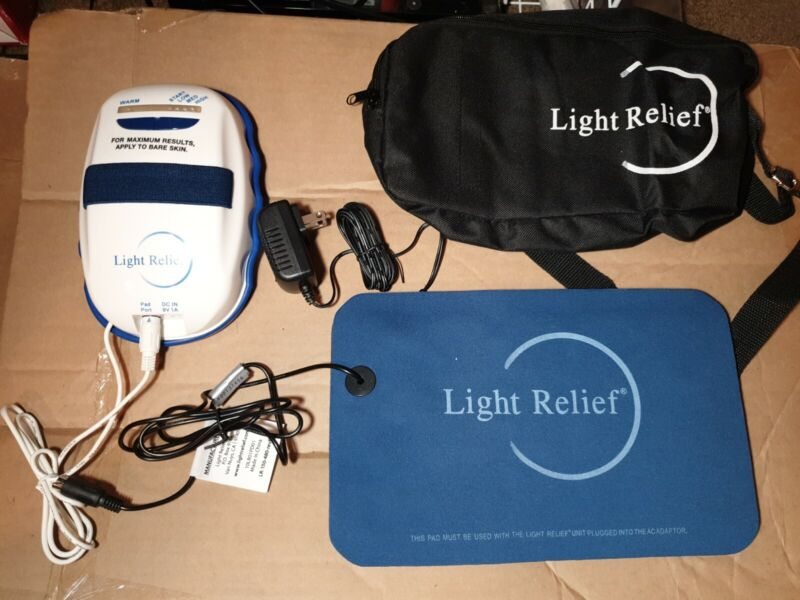 Brand New Light Relief LR150 Light Pad Infrared Pain/muscle/joint Therapy Device