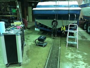 Repairs to boats. Seadoos and snowmobiles.