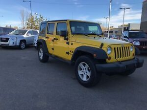 2008 Jeep Wrangler Unlimited X - 4x4, Cruise Control