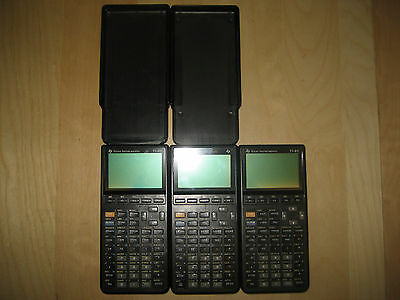Lot of 3 Texas Instruments TI-85 Graphing Calculator