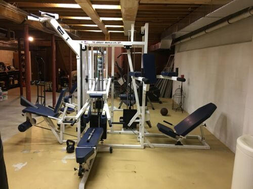 BodyMasters 5 Stack 8 Station Commercial Jungle Gym
