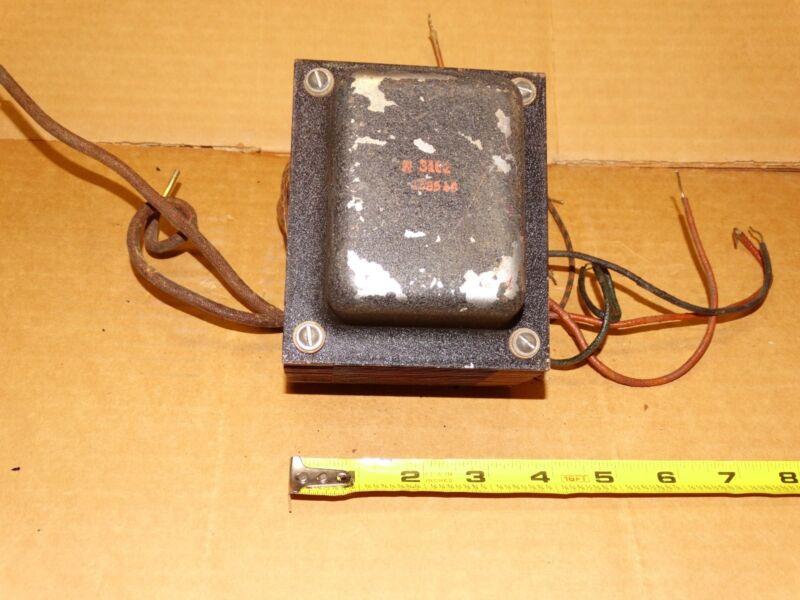 1 - Vintage Hammond Power Transformers for Tube Amp #  AO-138548