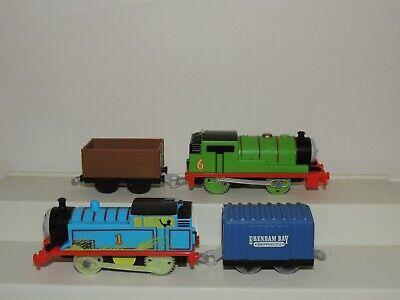 Thomas and friends Trackmaster Motorized Train Lot Percy Thomas!