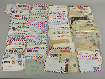 Collection Lot 200+ France Covers 1848+ Early Airmail Registered Scarce Cancels+
