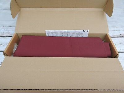 8' Sunsational Products Awning In A Box Classic Style Burgundy Red New Complete