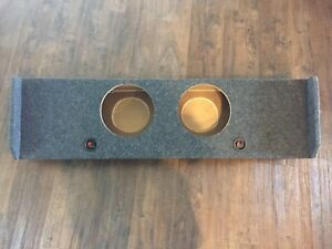F-150 Subwoofer Box for 2 10 inch subs