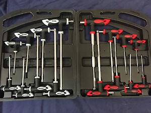 16pc Set T handle Torx & hex ball end allen key set TRX Star Tx screwdriver NEW