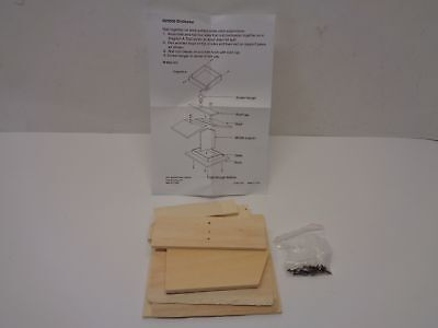Qty = 1 Pack of 12 Kits: DIY Unfinished Wood Bird Feeder P/N 48/9500