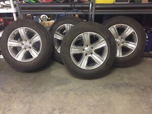 """20"""" ram 1500 rims & tires"""