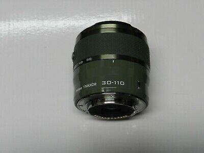 Nikon 1 NIKKOR VR 30-110mm f/3.8-5.6 Lens #3319 - KHAKI GREEN - 018208033195