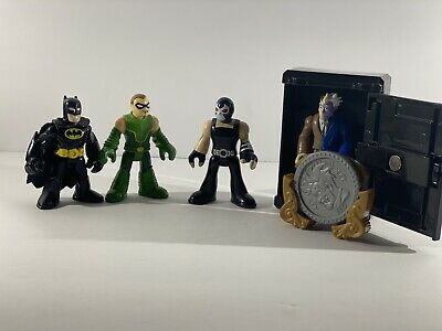 Batman Imaginext Lot Bane Two Face Green Arrow