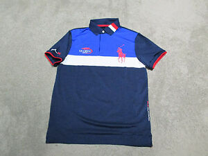 ralph lauren long sleeve black usa olympic golf shirts