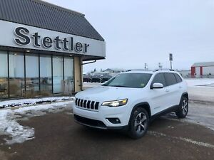 2019 Jeep Cherokee Limited 4X4! SUNROOF! LEATHER! REMOTE START!