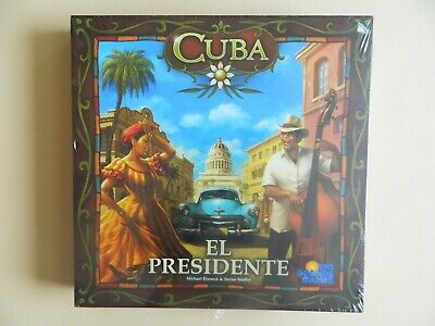 *RARE* Cuba El Presidente Board Game Expansion Pack - Rio Grande Games