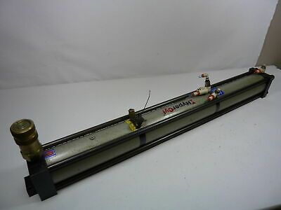 Hypercyl Aries Hps-4-6.00-.75-uh Pneumatic Cylinder Used