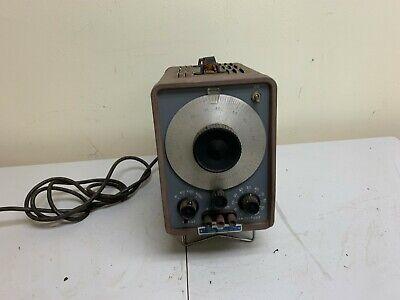Vintage Hp 200ab Audio Oscillatorsignal Generator Tube-type Not Tested Parts