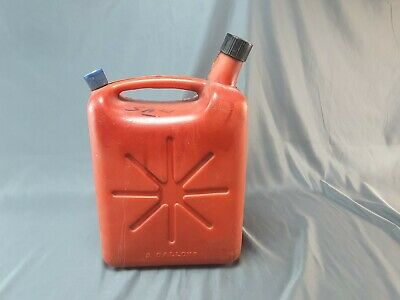 Two Gallon Poly Plastic Gasoline Can