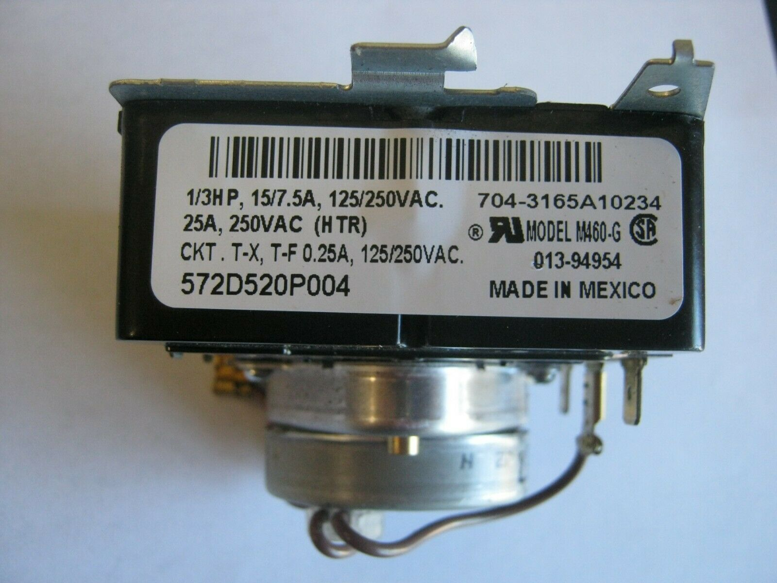 GE timer motor 572D520P004 dryer PLEASE READ DESC/VIEW ALL PICTURES M460-G