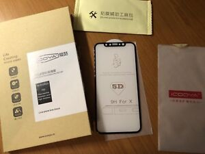 iPhone X Glass Screen Protector - 3D Full Protection