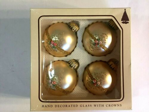 Vintage Christmas  Tree Ornaments By