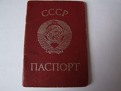 1992 Reisepass Pass Passport Ausweis UdSSR Sowjetunion Ukraine ID 1975 паспорт