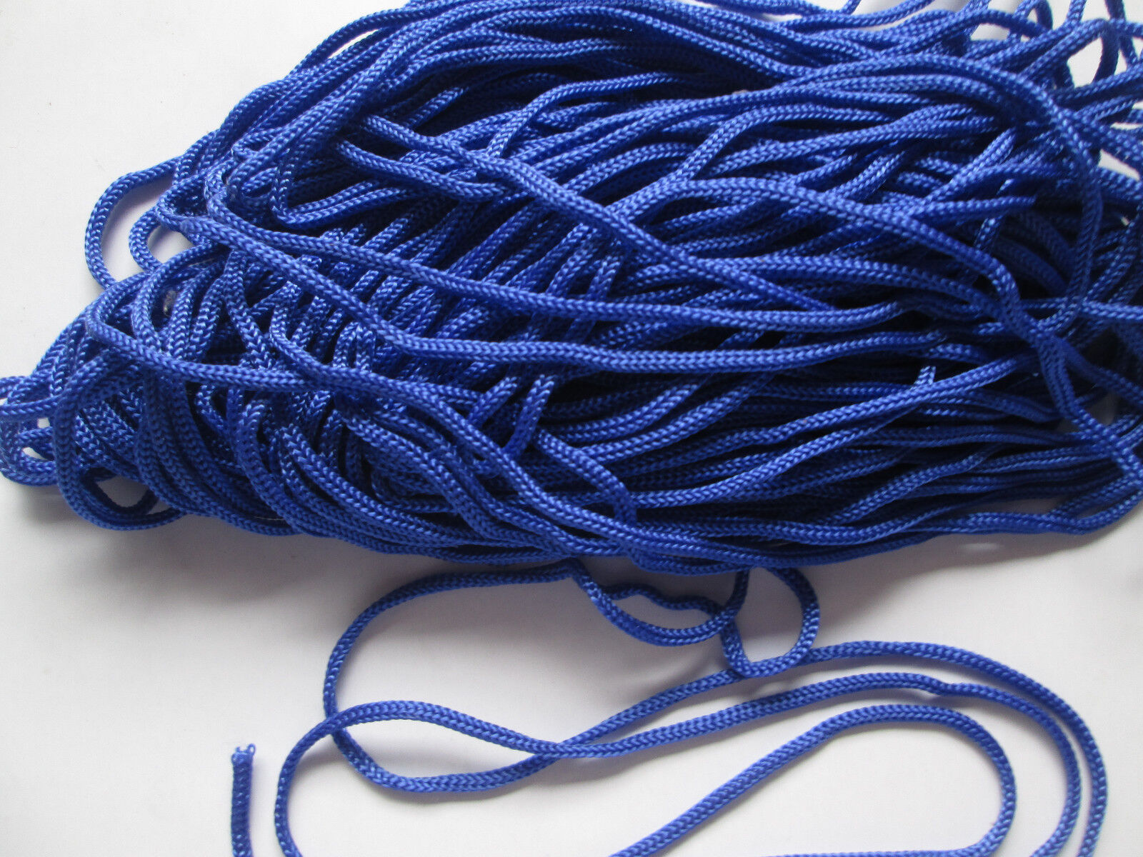 10 METER kordel Satin Blau 3mm elegante Borte Spitze KR 005