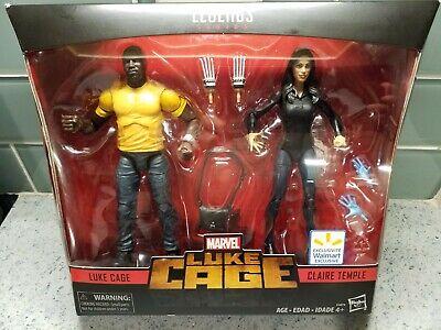 Marvel Legends Luke Cage 2 Pack Claire Temple Walmart Exclusive Netflix New