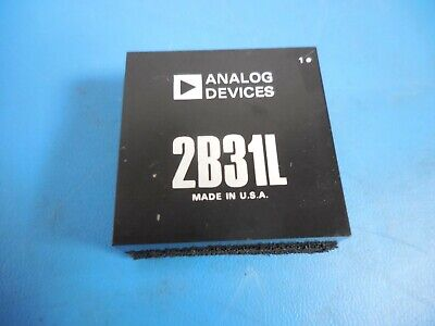 Analog Devices 2b31l Strain Gauge Rtd Conditioner Ic