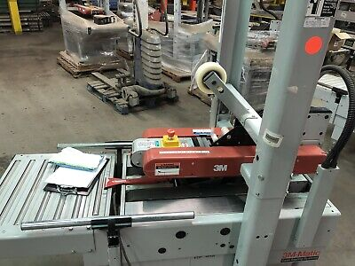 3m-matic 700r Case Sealer Tape Machine Double Top And Bottom Taper