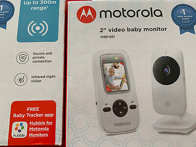 "Motorola 2"" Video Baby Monitor MBP481 - Brand New Free Delivery"