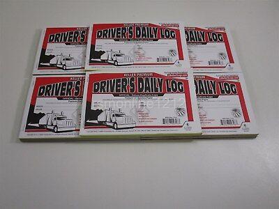 (Lot of 10 JJ KELLER 8526 701L Duplicate Copy Driver's Daily Log Book Carbonless)