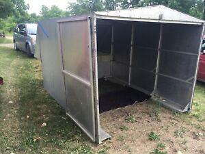 Custom made 8ft truck box