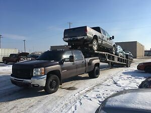 Car towing transport hauling