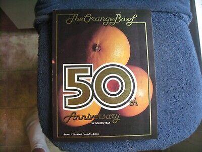 1984 ORANGE BOWL MIAMI VS NEBRASKA FOOTBALL BERNIE KOSAR   GROBEE1957 Miami Orange Bowl